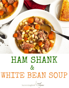 Ham and White Bean Soup