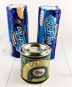 Biscuits and Golden Syrup