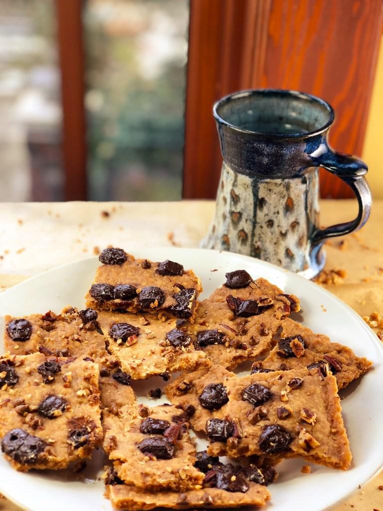 Chocolate Chip Cookie Brittle