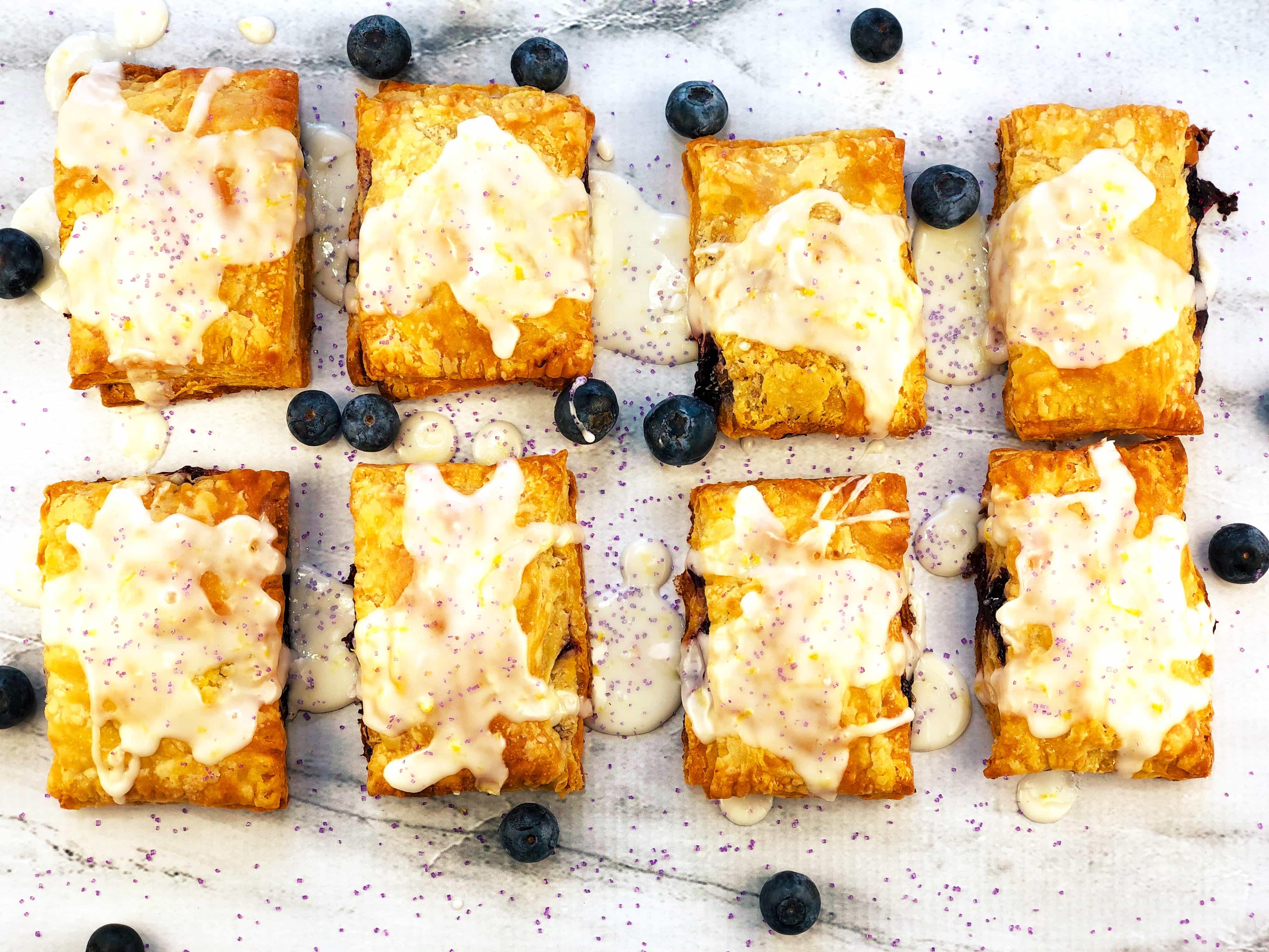 Blueberry Lemon Hand Pies
