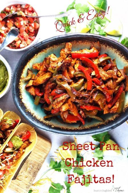 Easy and Flavorful Sheet Pan Chicken Fajitas