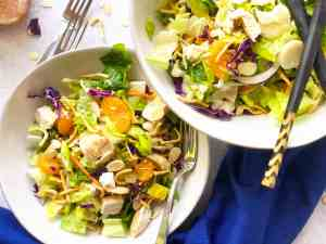 Serving of Chinese Chicken Salad