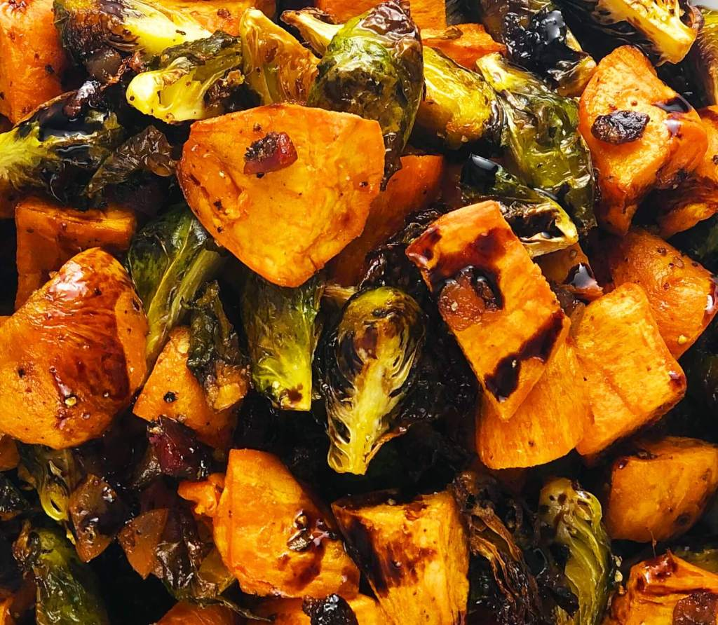 Easy Roasted Thanksgiving Vegetables