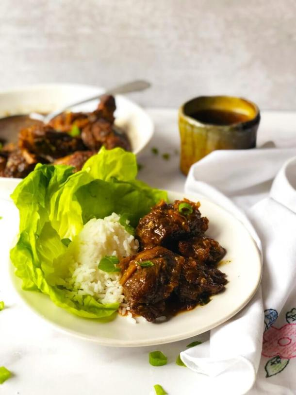 Asian Caramel pork