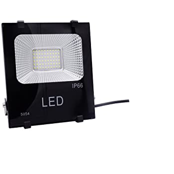 ΠΡΟΒΟΛΕΑΣ LED ΕΞΩΤΕΡΙΚΟΥ ΧΩΡΟΥ 30W AC90-240V 100LM 6000K IP66 43X38X51