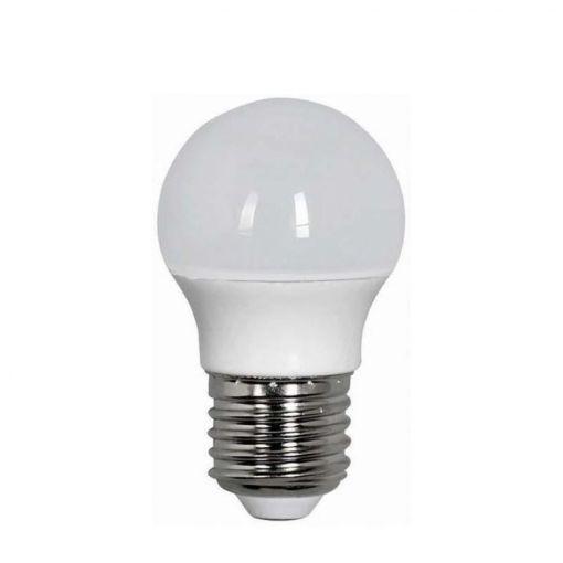 ΛΑΜΠΑ LED Ε27 ΜΙΝΙ 5W 450ΛΜ 3000Κ Φ45X81MM G45-E27-5W