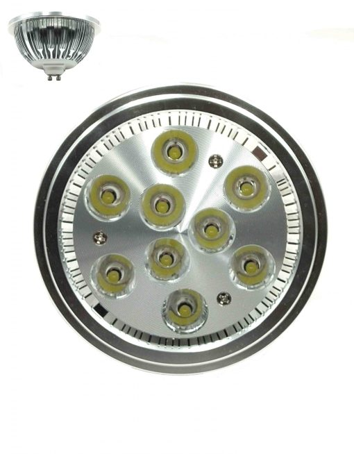 ΛΑΜΠΤΗΡΑΣ LED AKIDA 12W 220V 6000K 11X7CM  GU10-12W-6000K