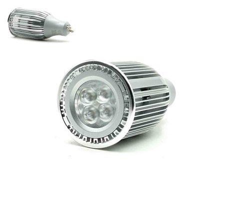 ΛΑΜΠΤΗΡΑΣ GU10 LED 8W 220-240V ΛΕΥΚΟ ΘΕΡΜΟ 5Χ10.5CM GU10-8W