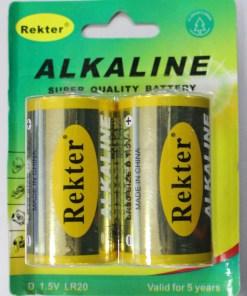 ΜΠΑΤΑΡΙΕΣ ALKALINE REKTER 1.5V D
