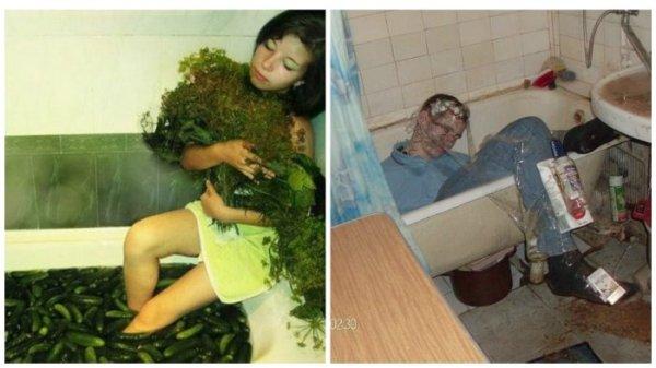Дикие и безумные фото из соцсетей от которых вы впадете в ...