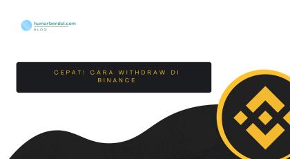 CEPAT! 6 Langkah Cara Withdraw di Binance