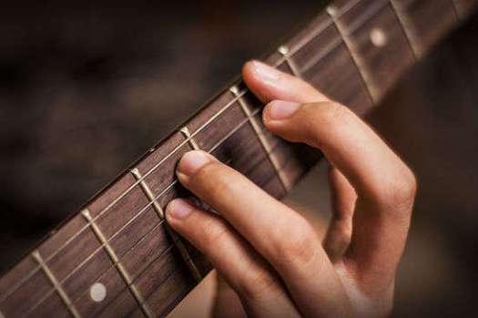 Guitarra Con Trastes
