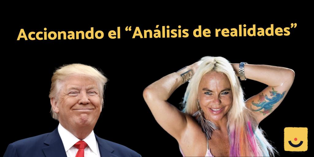 Noticias sobre Trump y Leticia Sabater con humor