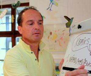 Dnes aktuálne Bruno Horecký, slovenský humorista a zostavovateľ detského časopisu FĽAK