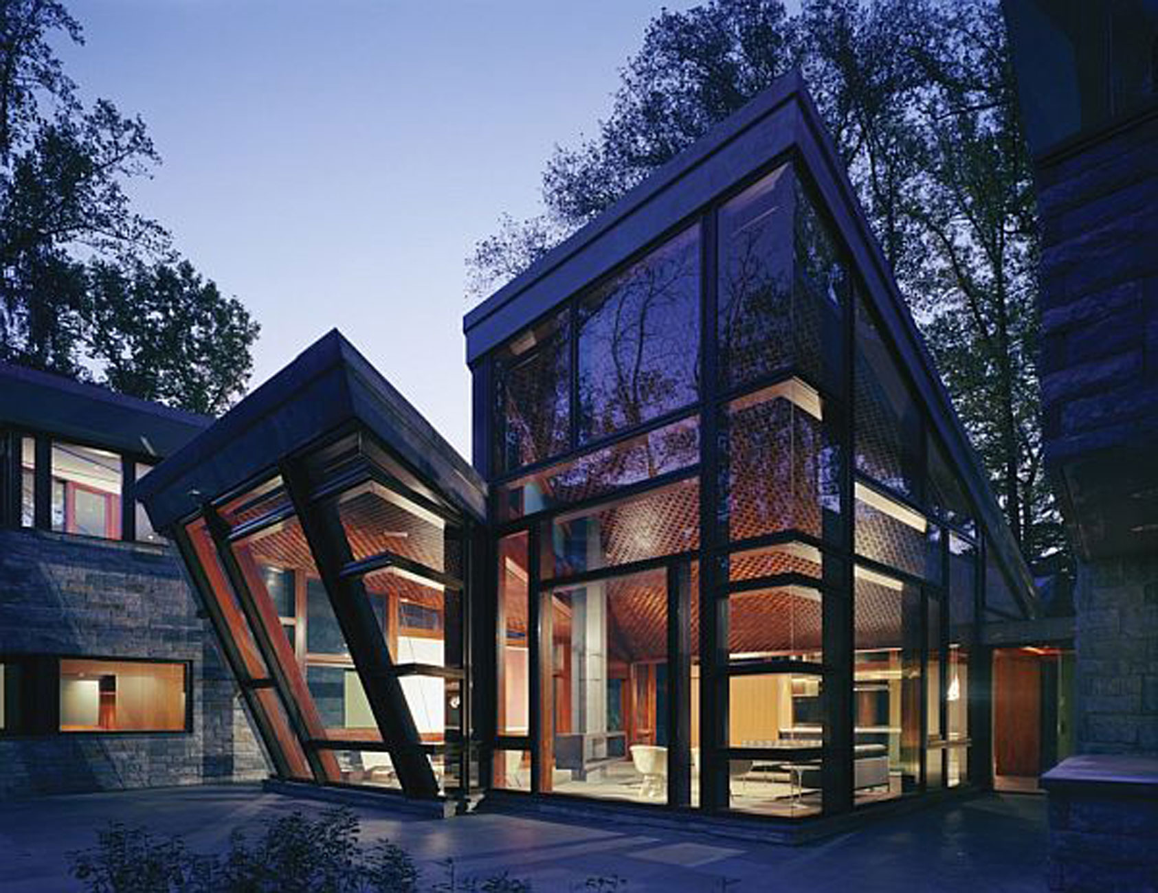 Sunday Evening Art Gallery Blog — Glass Houses - Humoring ... on Glass House Design Ideas  id=86487
