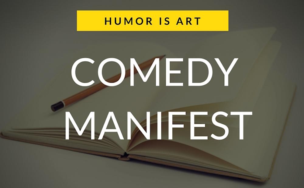 Manifest für alle Humor-Arbeiter