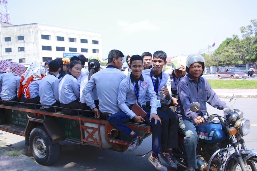 Kambodscha Motorad 2