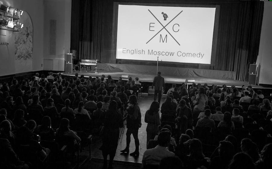 Podcast #16: Is there an English comedy scene in Moscow? You bet there is!