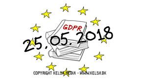 Kort og godt om EU persondataforordningen med tegnefilm fra Kelsa Media