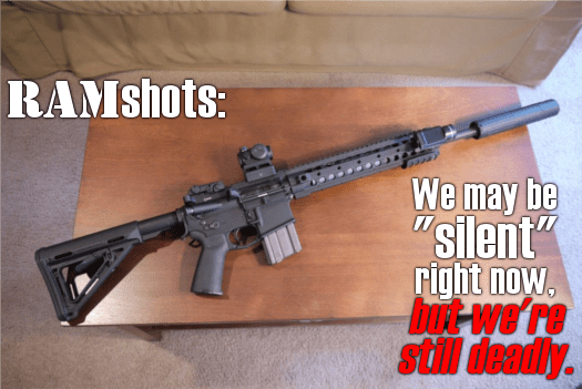 """Just, you know, not """"school shooting"""" deadly. (Special thanks to Bill for loaning RAM his living room for the afternoon!)"""
