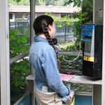 If you were in line at a phone booth behind a teenage girl, you were screwed.