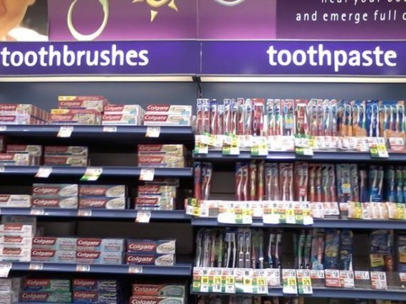 toothbrushesvtoothpasts