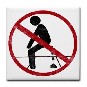 no_pooping_tile_coaster