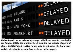 Airline travel - delays