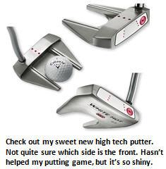 golf - fancy putter