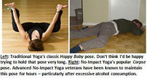 No Impact Yoga - Happy Baby