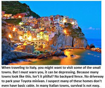 Italy - coastal town