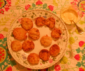 FriedGreenTomatoesCornmeal-