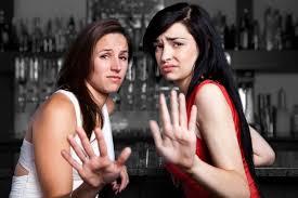 Image result for women at bar