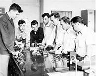 Image result for high school science lab 50s
