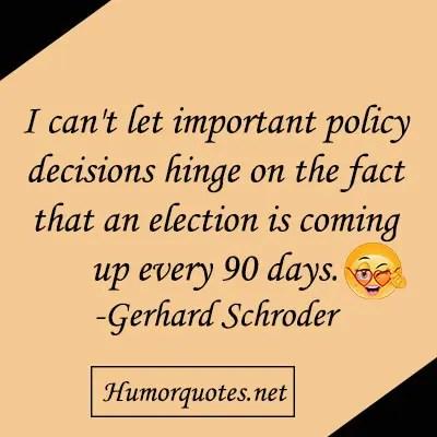 humour election sayings