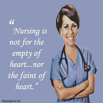 Funny nurse slogans