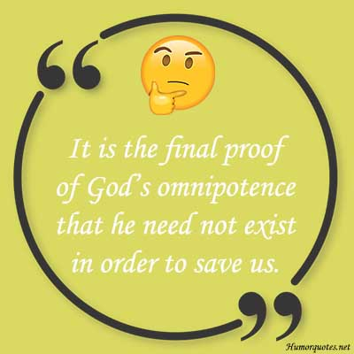 humor god sayings