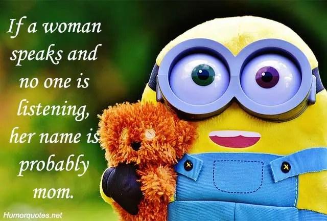 Minion Funny Quotes