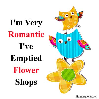 Romantic flower sayings