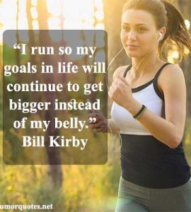 Running quotes funny