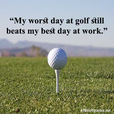 funny golf one-liners