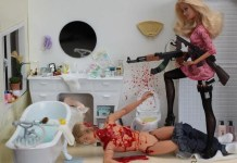 Barbie finally snapped when Ken got caught cheating