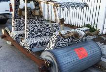 Flintstones Car Slapped With Parking Ticket
