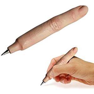 Stylo en forme de doigt - Gadget fantaisie missile humour original