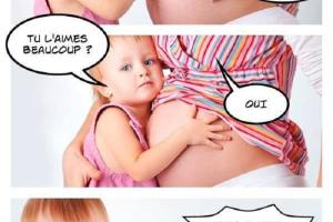 Maman c'est quoi ce truc dans ton ventre