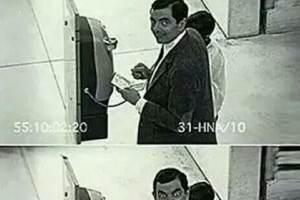 Moi quand je vois une caméra de sécurité