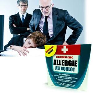 Inconnu PILULES Humour ALLERGIE AU BOULOT