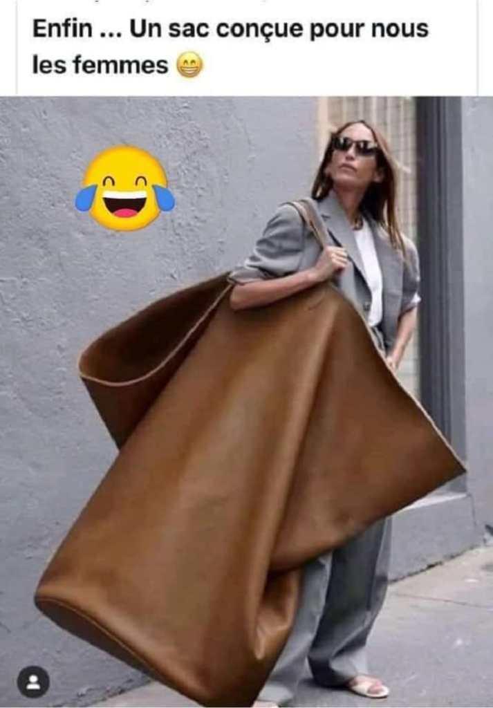 Un sac conçue pour nous les femmes