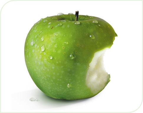 Mangez des pommes