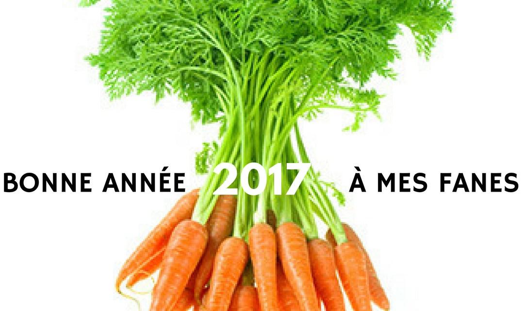 Bonne année à mes fanes